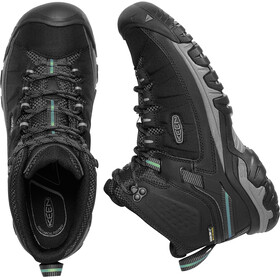 Keen M's Targhee Exp Waterproof Mid Shoes Black/Steel Grey
